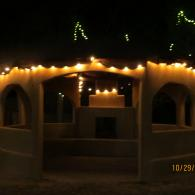 Gazebo with String Lights